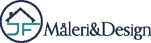 JF Måleri & Design logga